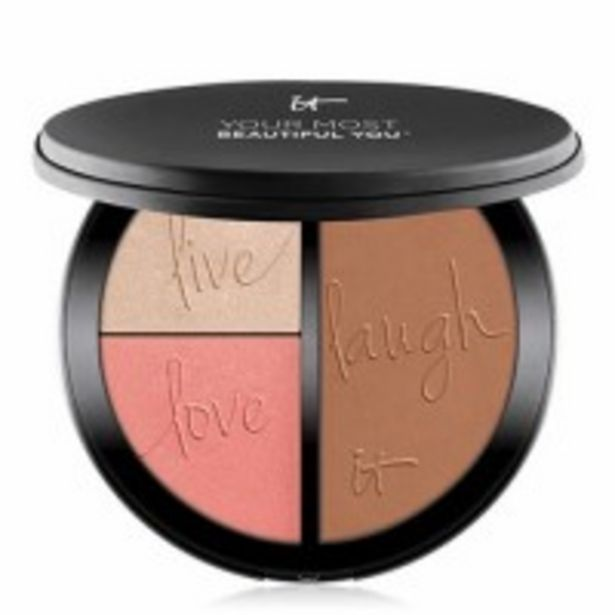 Oferta de IT COSMETICS Your Most Beautiful You™ Paleta Colorete,Iluminador Y Bronceador por 27,3€