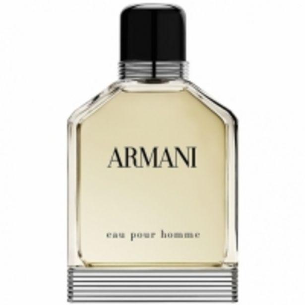 Oferta de Armani Eau Pour Homme Eau de Toilette por 62,99€