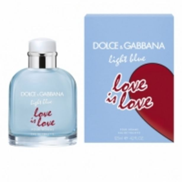 Oferta de Dolce Gabbana Light Blue Love Is Love Pour Homme Eau de Toilette por 46,95€