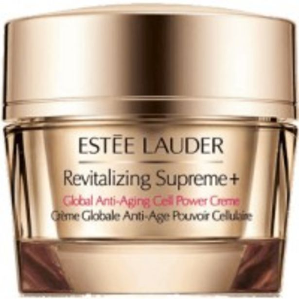 Oferta de Estee Lauder Revitalizing Supreme y Crema Global Anti Edad por 54,9€