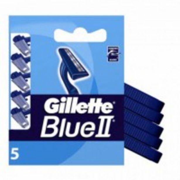 Oferta de Hoja Maquina Blue II 5 por 2,85€