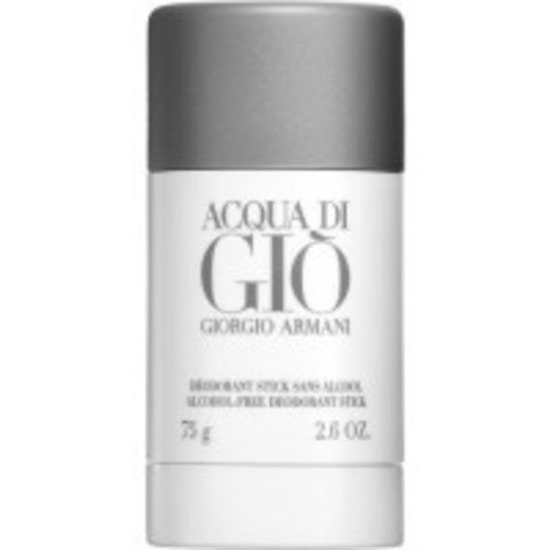 Oferta de Acqua Di Gio Desodorante Stick por 22,99€