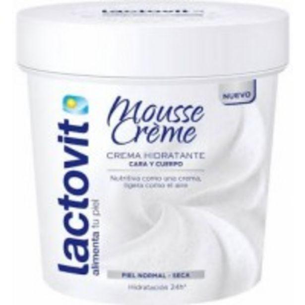 Oferta de Lactovit Mousse Crema por 1,99€