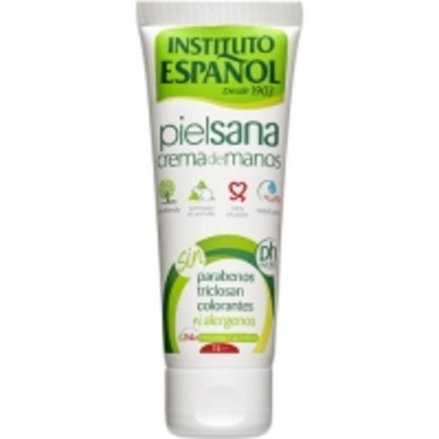 Oferta de Instituto Español Crema Manos Piel Sana por 1,85€