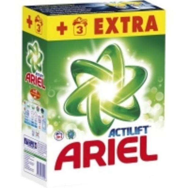 Oferta de Ariel Detergente en polvo Actilift por 6,74€