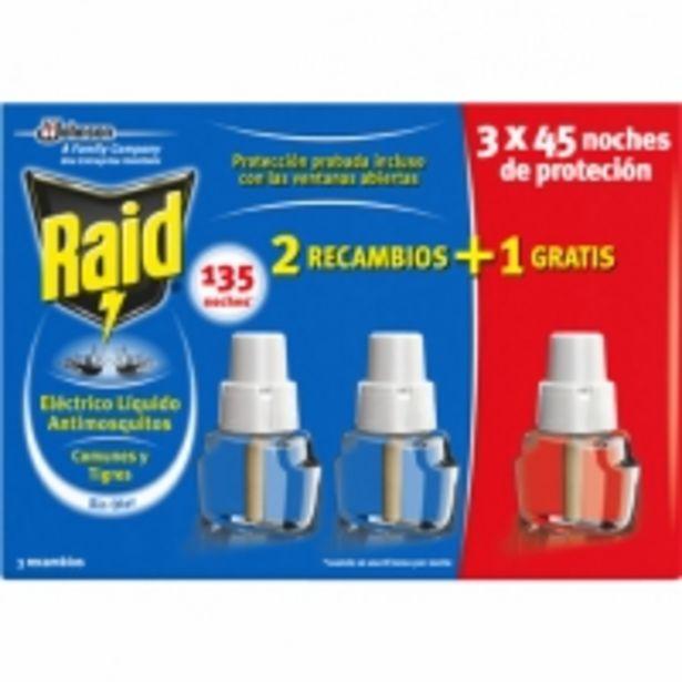 Oferta de Insecticida antimosquitos Eléctrico Recambios por 6,99€