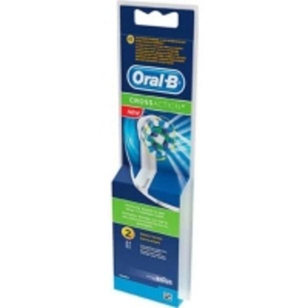 Oferta de Recambio Cepillo Dental Eléctrico Cross Action 2 Unidades por 10,99€
