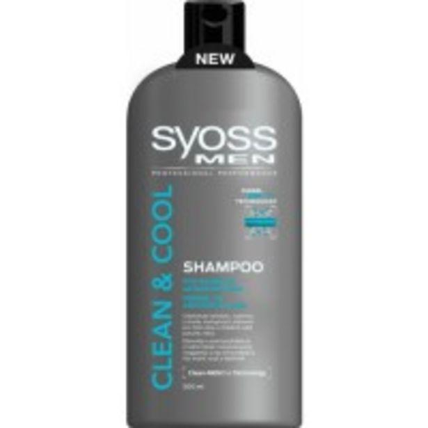 Oferta de Champú Syoss Men Cool por 3,09€