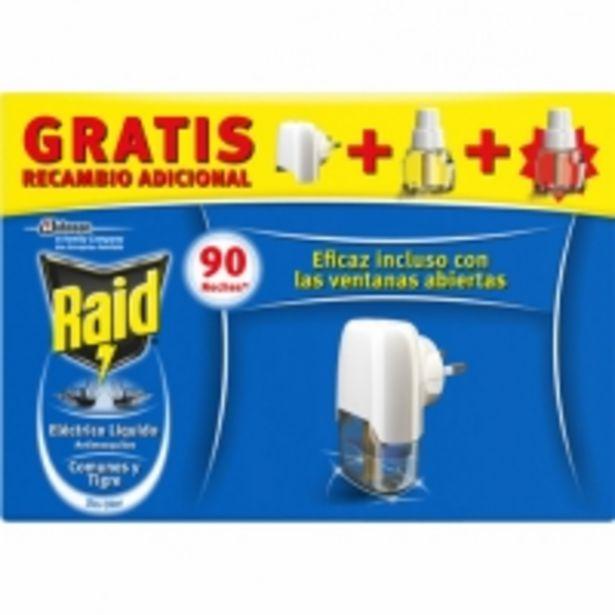 Oferta de Raid Insecticida Volador Eléctrico Líquido por 4,99€
