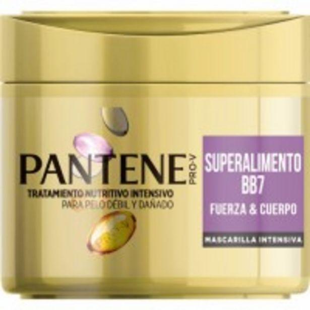 Oferta de Mascarilla Pantene Intensiva Superalimento por 4,65€