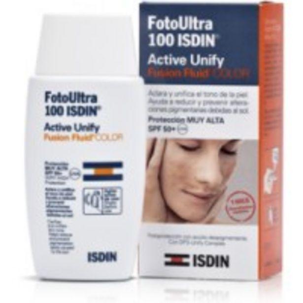 Oferta de Isdin Fotoprotector Active Unify SPF50 por 15€