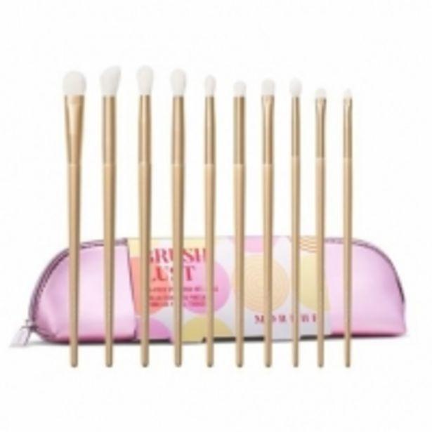 Oferta de Morphe Brush Lust Eye Brush Set - Colección de 10 Brochas + Estuche por 31,95€