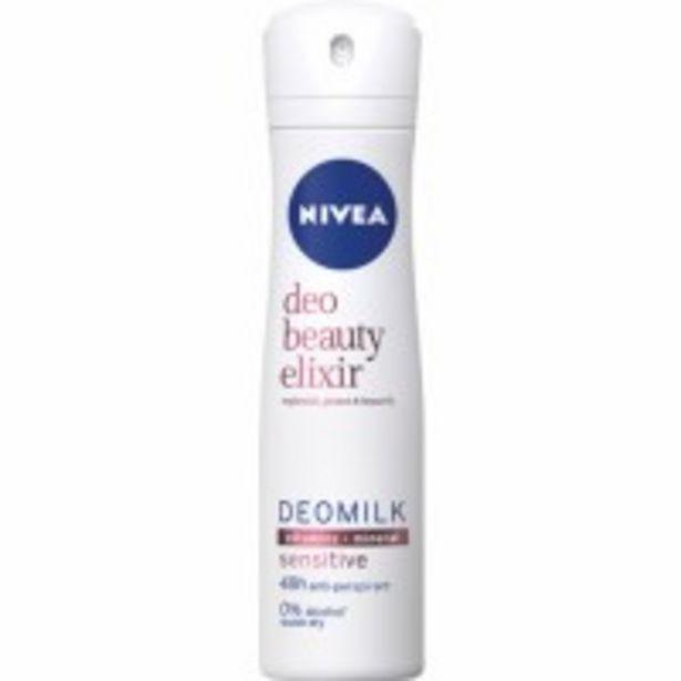 Oferta de Desodorizante Beauty Elixir Sensitive Spray por 2,69€