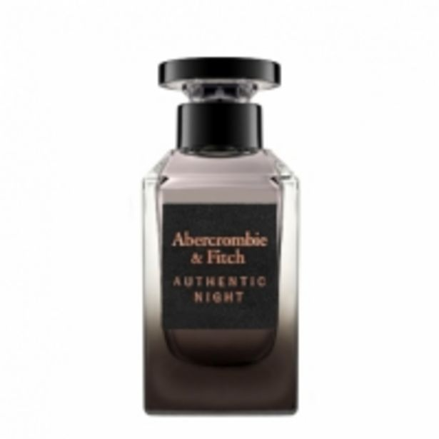 Oferta de Abercrombie & Fitch Authentic Night Men Eau de Toilette por 28,95€