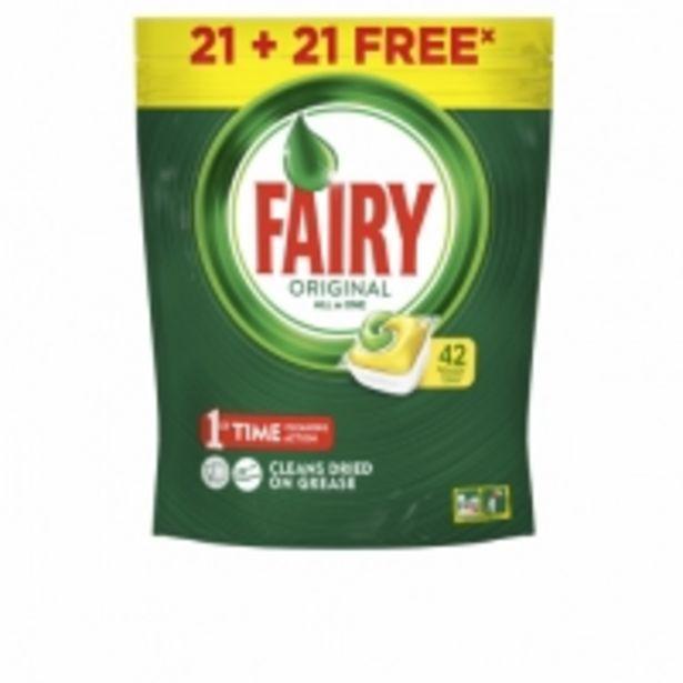 Oferta de Fairy Todo en 1 Limón Lavavajillas por 8,99€