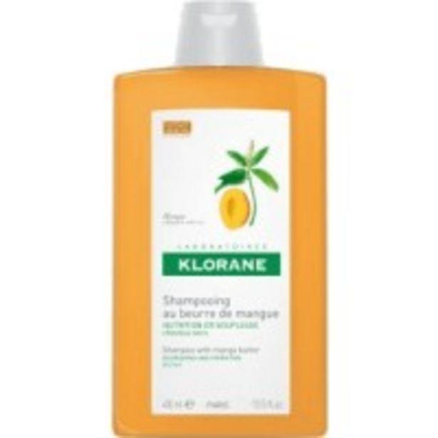 Oferta de Klorane Champú a la Manteca de Mango por 14,49€