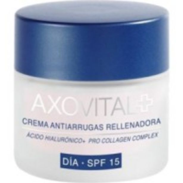 Oferta de Crema antiarrugas rellenadora día por 14,99€