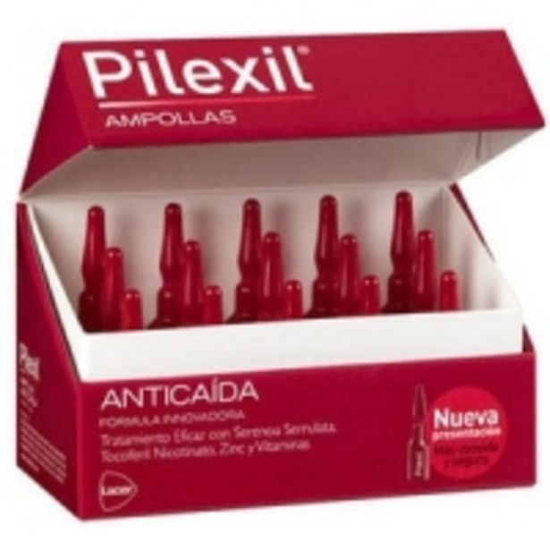 Oferta de Pilexil Tratamiento Anti Caída Ampollas 15 Unidades por 33,99€