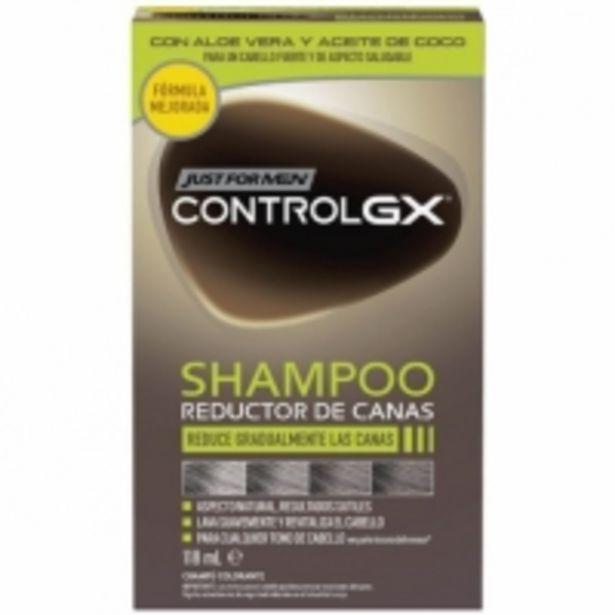 Oferta de Just For Men Champú Control GX por 8,49€