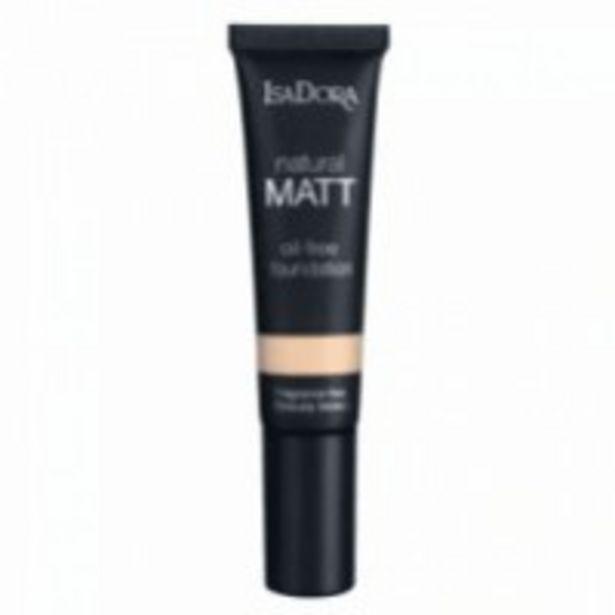 Oferta de Isadora Natural Matt Oil Free Foundation por 18,13€