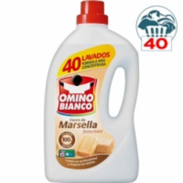 Oferta de Detergente Omino Bianco por 6,99€
