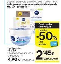 Oferta de Crema corporal Nivea por 4,9€