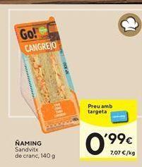 Oferta de Sandwiches Ñaming por 0,99€
