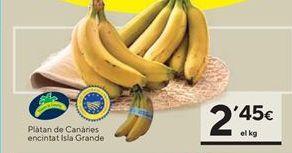 Oferta de Plátanos de Canarias por 2,45€