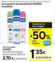 Oferta de Desodorante Sanex por 2,7€