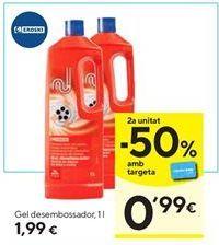 Oferta de Limpiador wc eroski por 1,99€
