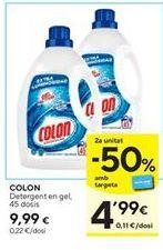 Oferta de Detergente gel Colon por 9,99€