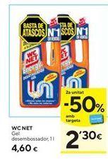 Oferta de Limpiador wc WC Net por 4,6€