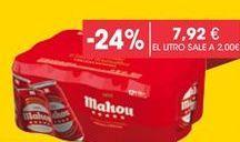 Oferta de Cerveza Mahou por 7,92€