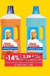 Oferta de Limpiahogar Don Limpio por 1,95€