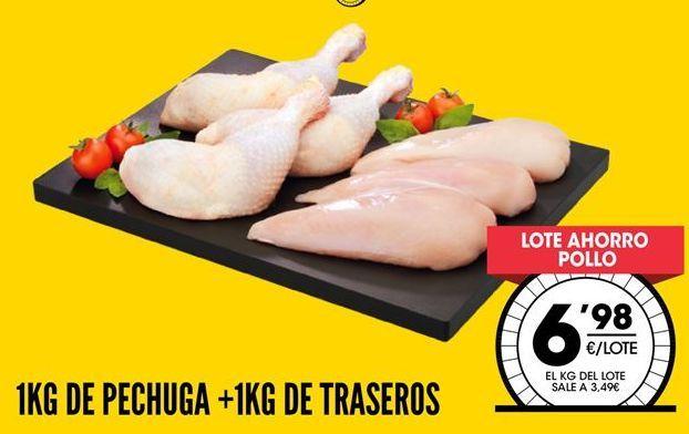 Oferta de Pollo por 6,98€