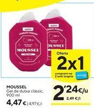 Oferta de Gel de baño Moussel por 4,47€