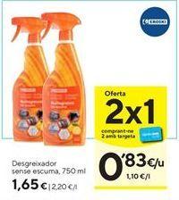 Oferta de Quitagrasas eroski por 1,65€