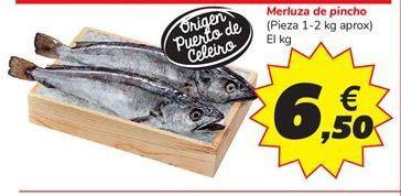 Oferta de Merluza de pincho por 6,5€