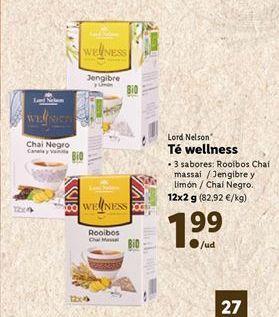 Oferta de Té por 1,99€