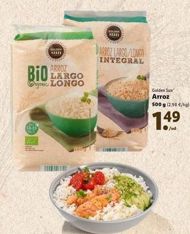 Oferta de Arroz golden sun por 1,49€