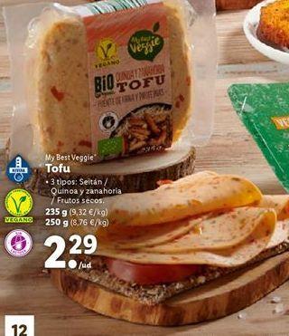 Oferta de Tofu por 2,29€