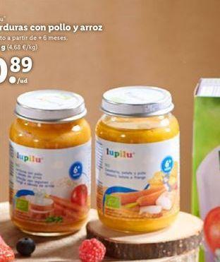 Oferta de Potito de verdura Lupilu por 0,89€