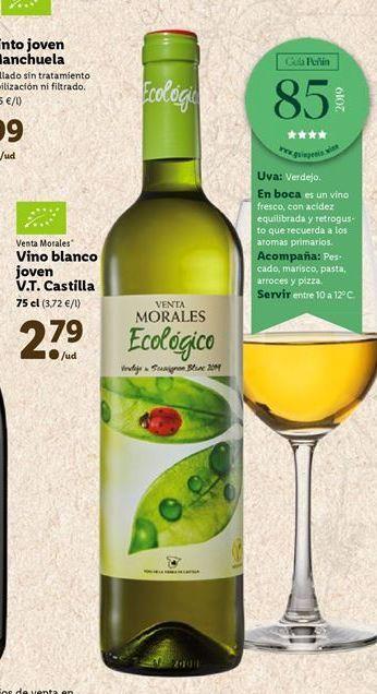 Oferta de Vino blanco castilla por 2,79€