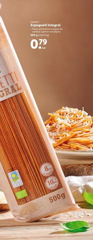 Oferta de Espaguetis combino por 0,79€