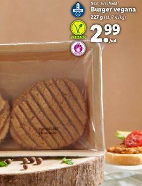 Oferta de Hamburguesas vegetales por 2,99€