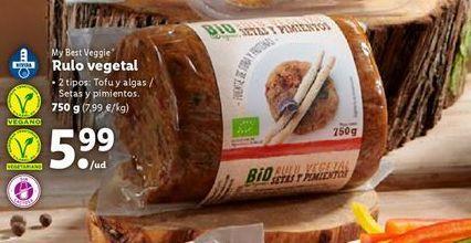 Oferta de Comida vegetariana por 5,99€