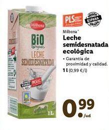 Oferta de Leche ecológica Milbona por 0,99€
