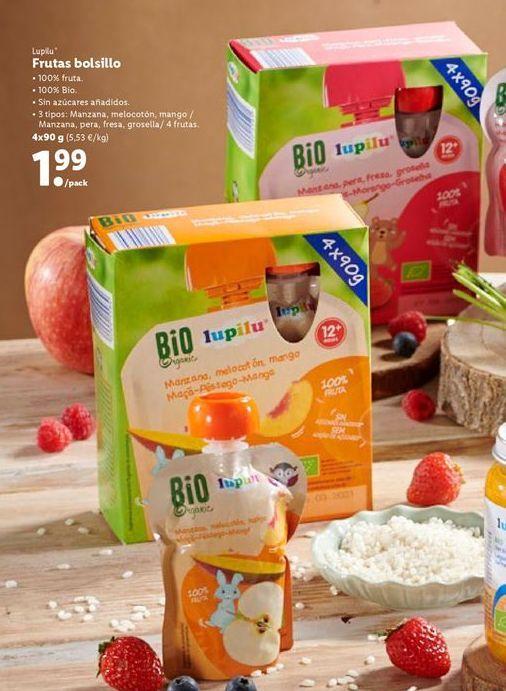 Oferta de Puré de frutas Lupilu por 1,99€