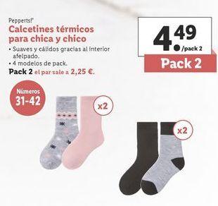 Oferta de Calcetines niña Pepperts por 4,49€