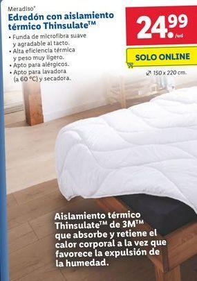 Oferta de Edredón Meradiso por 24,99€